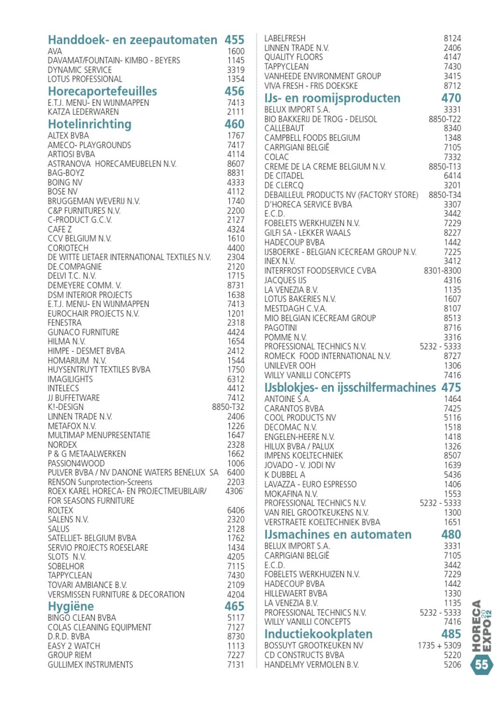 Dsm Keukens Catalogus : Horeca Expo Catalogus 2012 by Artexis issuu