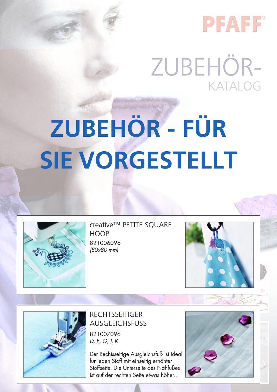 Transparenter offener Applikationsfuß für PFAFF IDT-System Art.-Nr. 820916096
