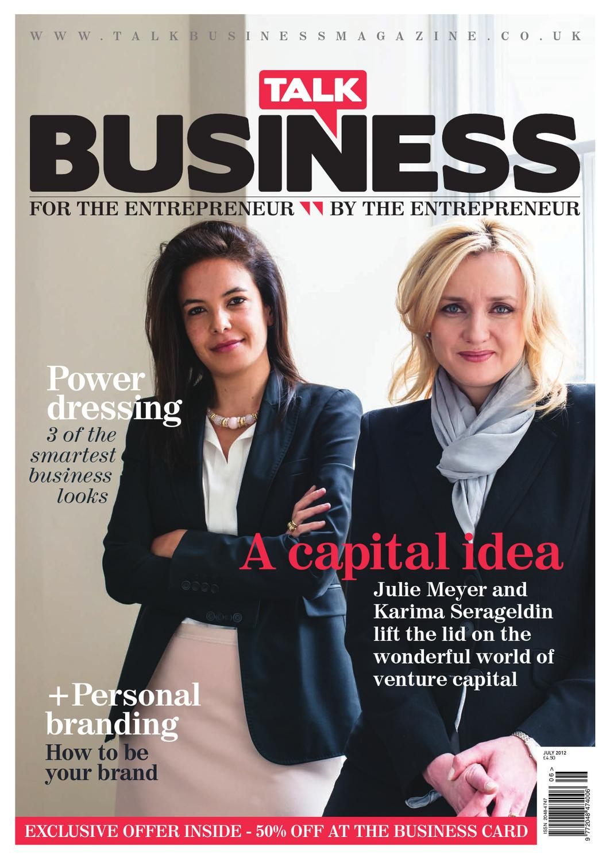 Talk Business July 2012