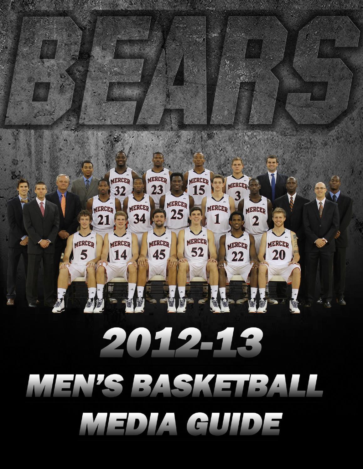 d9820e2d4 2012-13 Mercer Men s Basketball Media Guide by Andrew Stabell - issuu