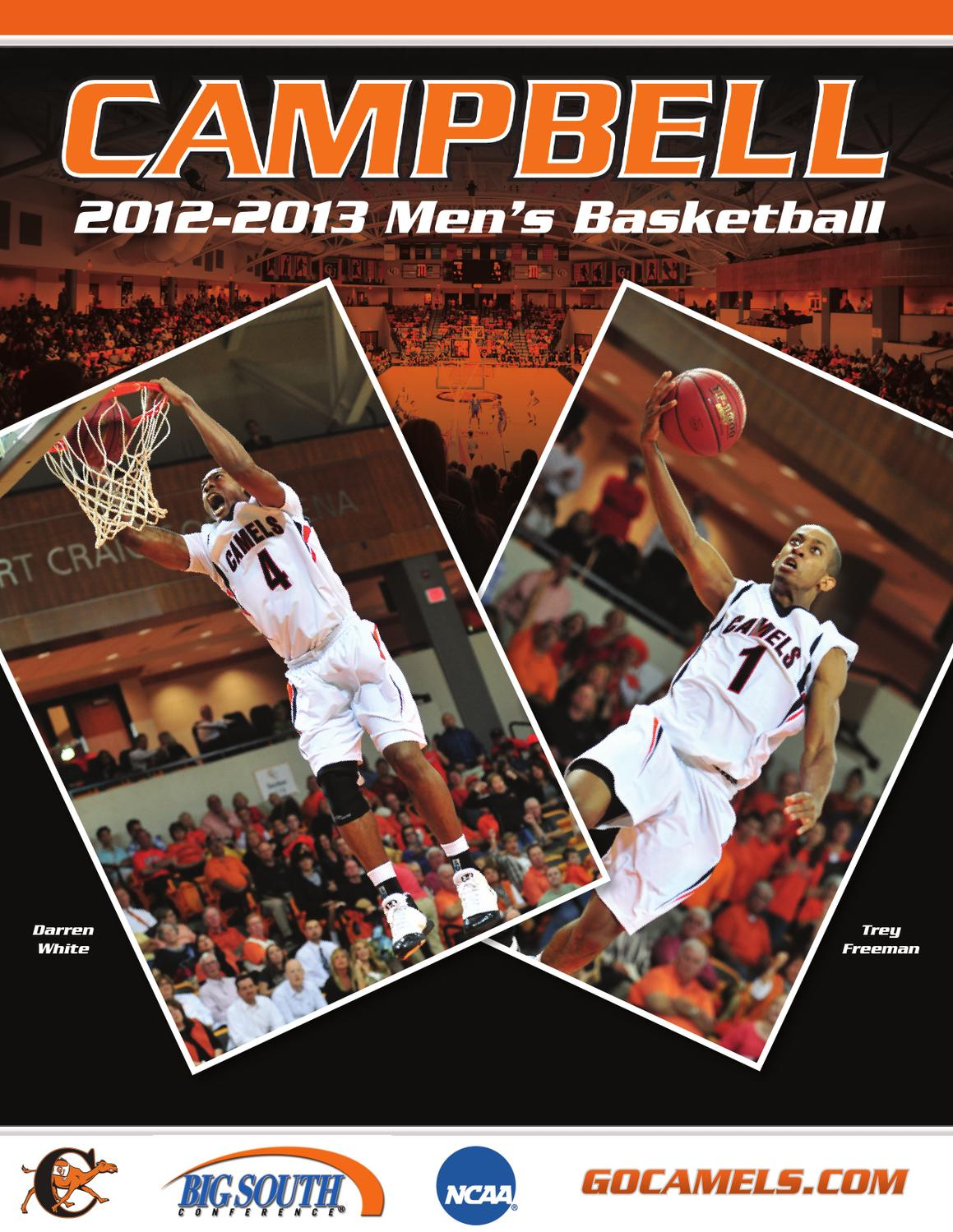 2012 13 Campbell Mens Basketball Media Guide By Athletics Freeman Apel Issuu