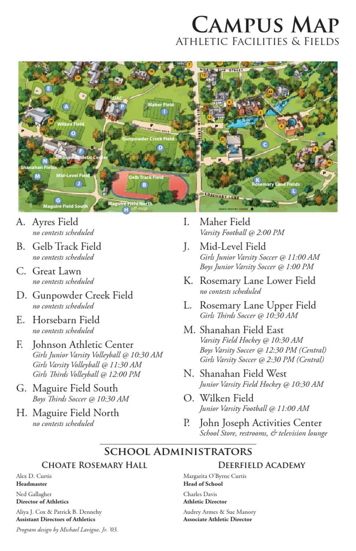 Deerfield Day 2012 Program by Choate Rosemary Hall   issuu