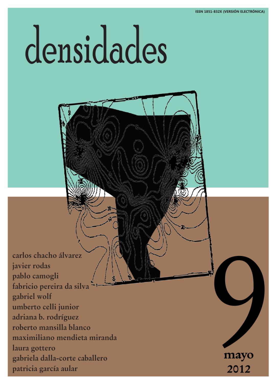 densidades n°9 by Revista Densidades - issuu