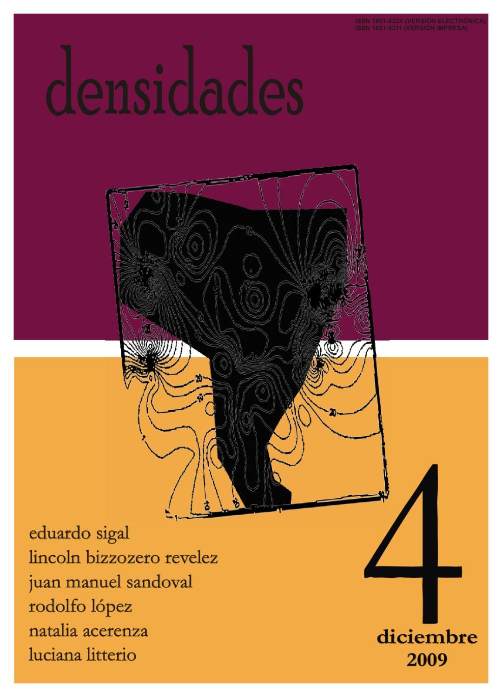 densidades n°4 by Revista Densidades - issuu