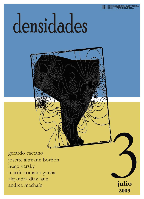 densidades n°3 by Revista Densidades - issuu