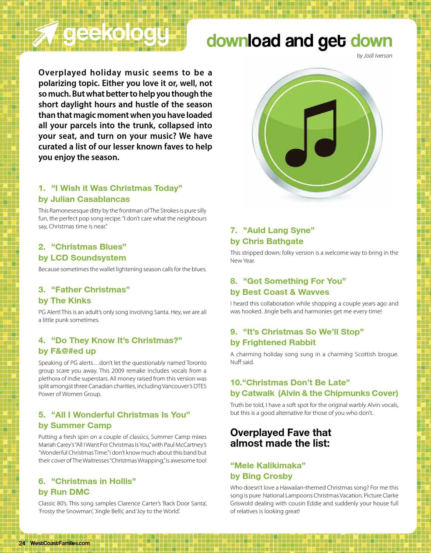 WestCoast Families Nov|Dec issue by WestCoast Families magazine - issuu