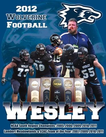 Wesley College Football >> 2012 Wesley College Football By Steven Kramer Issuu