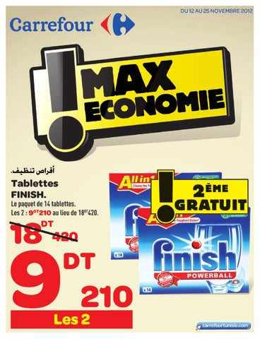 Catalogue Carrefour Max économie By Carrefour Tunisie Issuu