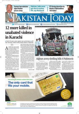 e-paper pakistantoday 12th November, 2012