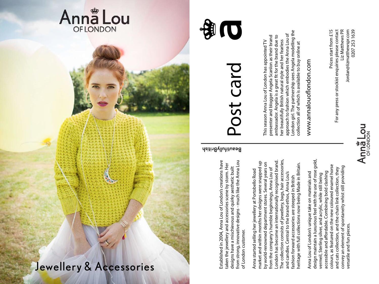 4695b081d1d897 Anna Lou Lookbook by Lavena Esperanza - issuu