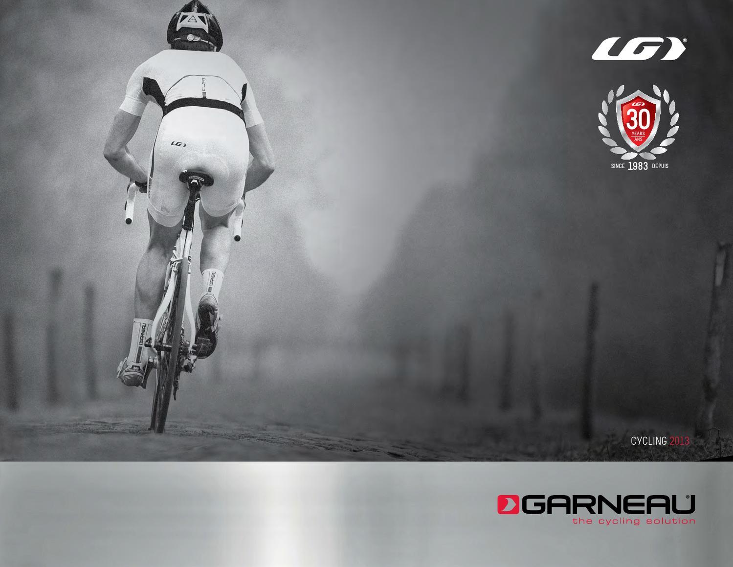 Black - L Louis Garneau 2012 Cycling Knee Warmers 1083040
