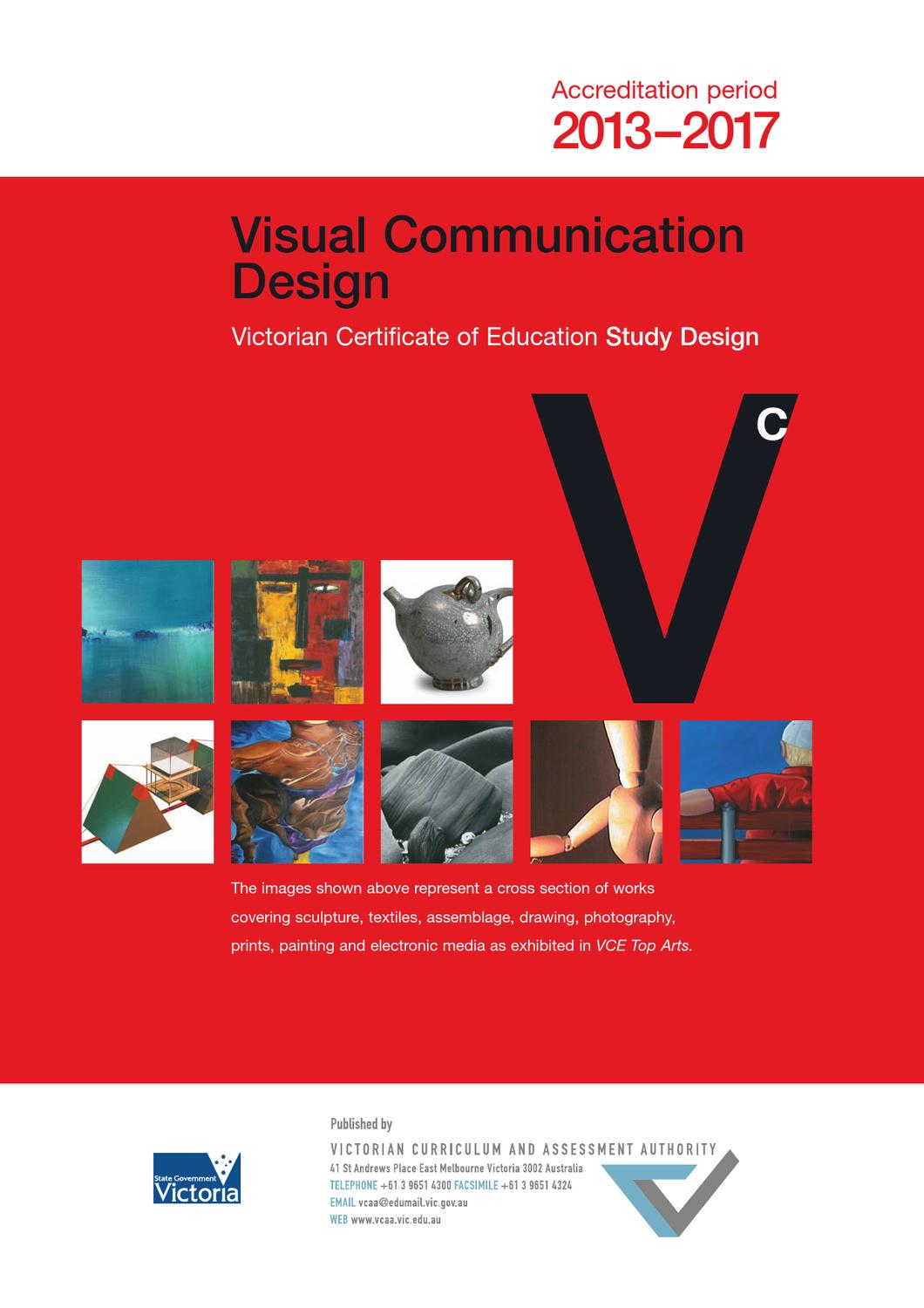 Vcd Study Design 2013 2017 By Elwood College Issuu