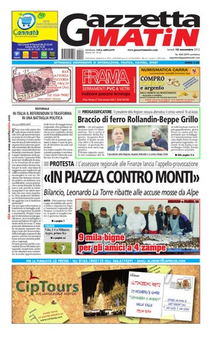 Gazzetta Matin del 12 novembre by Luca Mercanti - issuu 7b6e4c9c6038