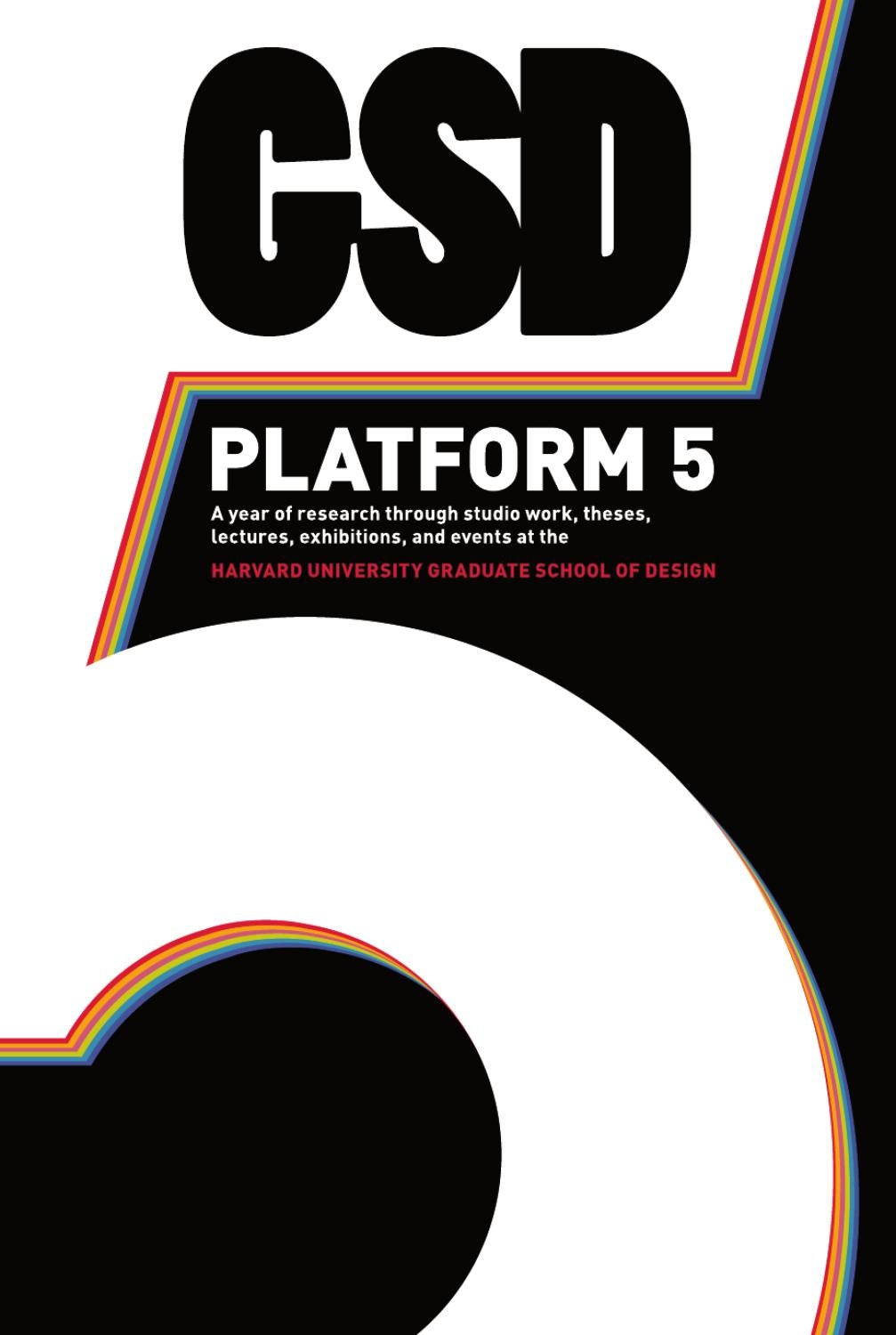 Gsd Platform 5 By Actar Publishers Issuu Kic Stove Wiring Diagram