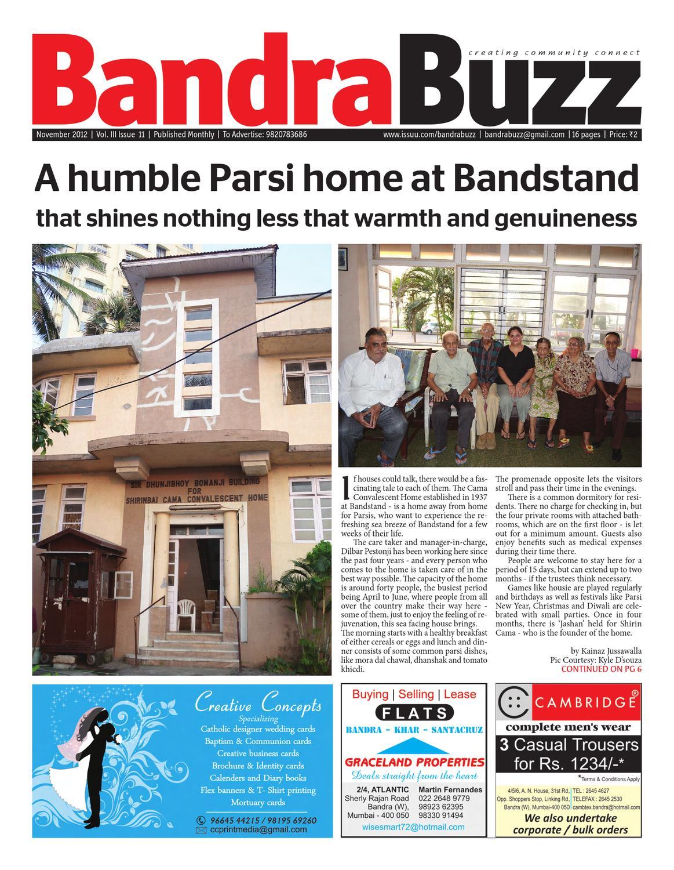 Vol Iii Issue 11 By Bandra Buzz Newspaper Issuu