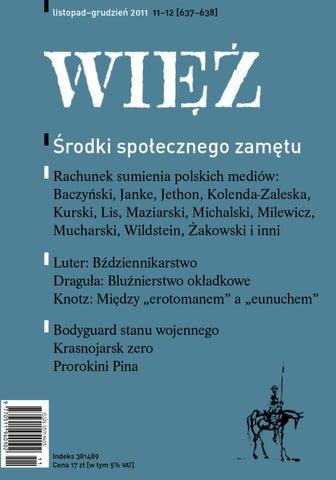 19d3b90d7f1ef WIĘŹ 11-12 2011 by Towarzystwo WIĘŹ - issuu