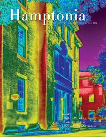 Hamptonia Fall 2012 by New Hampton School - issuu