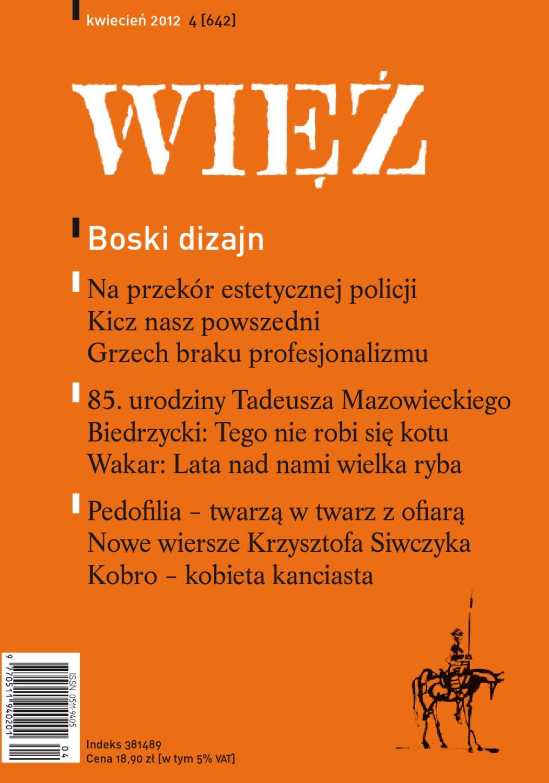 36da953ec2f37d WIĘŹ 4/2012 by Towarzystwo WIĘŹ - issuu