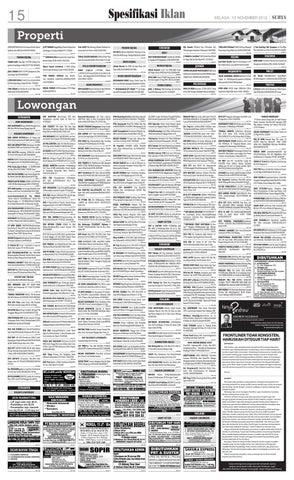 E-paper Surya Edisi 13 November 2012 by Harian SURYA - issuu 25ba613618