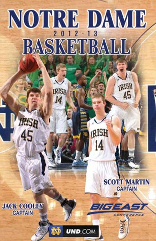 2012-13 Notre Dame Men s Basketball Media Guide by Chris Masters - issuu 20ea6b148