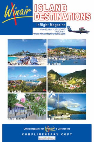 Winair Destinations Inflight Magazine ONLINE by media