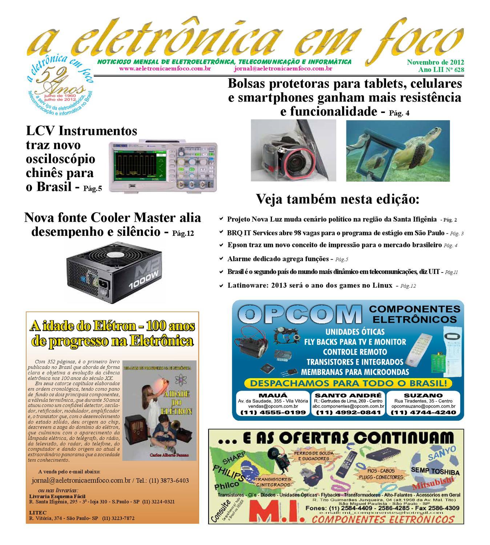 Edição Novembro 2012 by A Eletronica em Foco - issuu