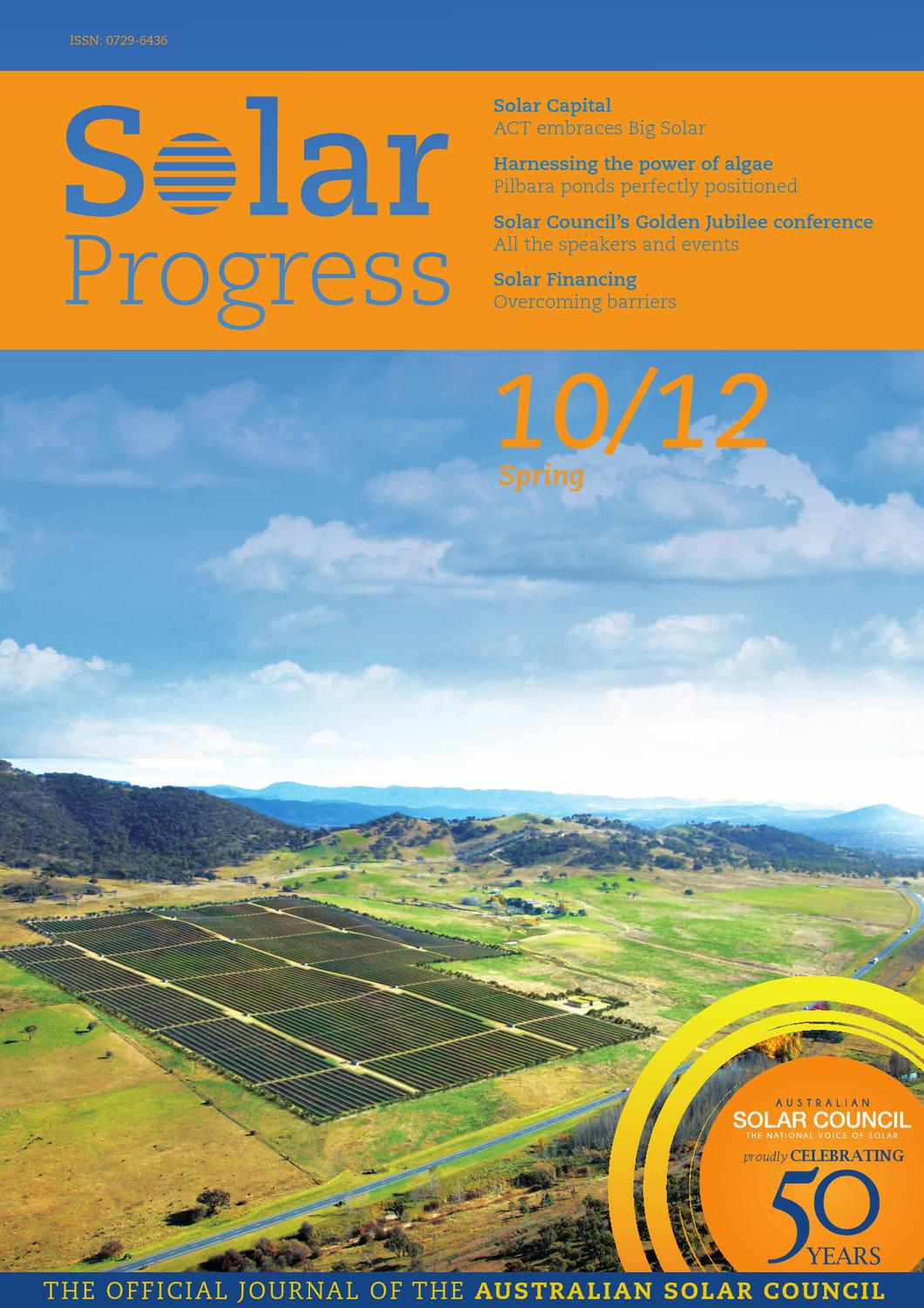 Solar Progress Spring 2012 By Commstrat Issuu Pre Circuit Diagram Switch Wiring Variationelectrical Online