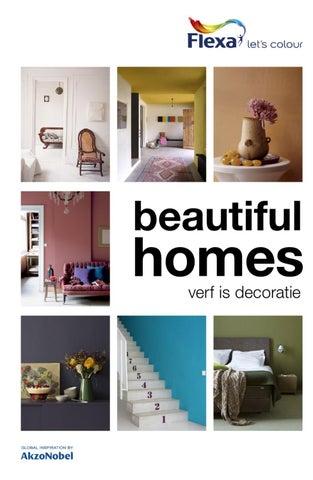 Kleur in je interieur: Flexa Beautiful Homes by AkzoNobel Decorative ...