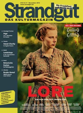 Strandgut Kulturmagazin 112012 By Strandgut Kulturmagazin