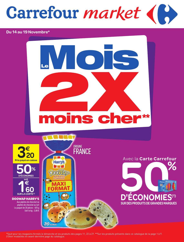 Carrefour Market Catalogue 14 Novembre 2012 By Promocatalogues Com Issuu