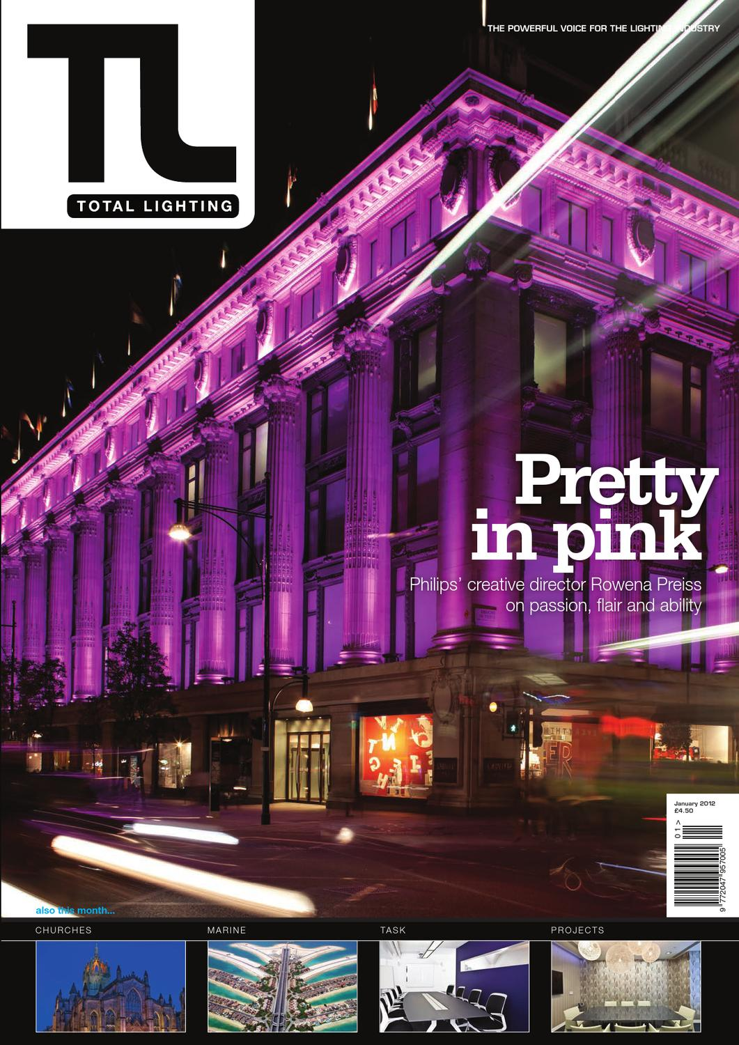 Total Lighting January 2012 By Magazine Issuu Circuit Project3v Low Battery Voltage Flasher