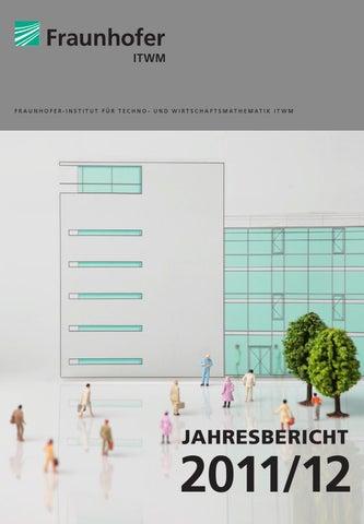 Jahresbericht 2011 By Fraunhofer ITWM   Issuu