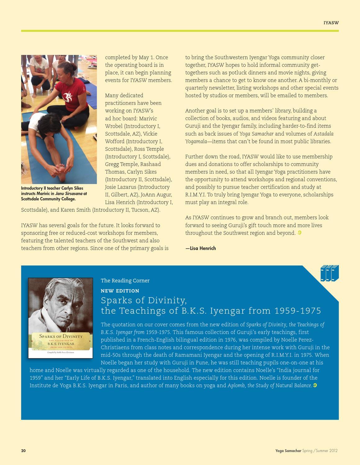 Yoga Samachar Springsummer 2012 By Don Gura Graphic Design Inc