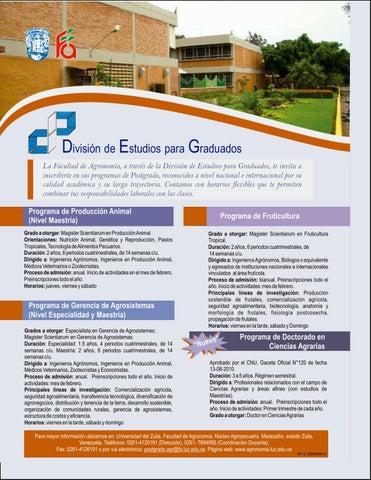 Revista Agrotécnico N°27 by Revista Agrotecnico Facultad de ...