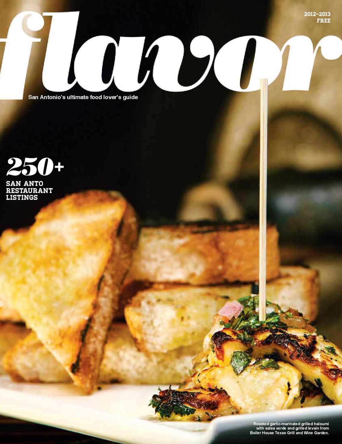 Flavor 2012 by San Antonio Current - issuu