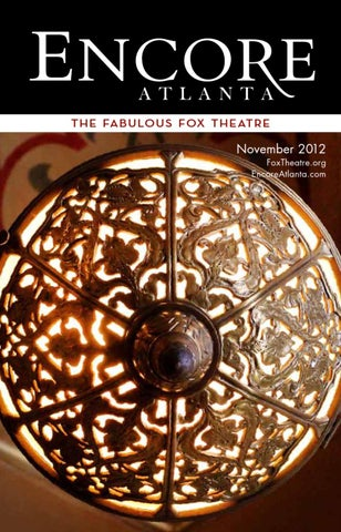 9b48e0e3824819 November 2012  Beauty and the Beast at the Fox Theatre by Encore ...