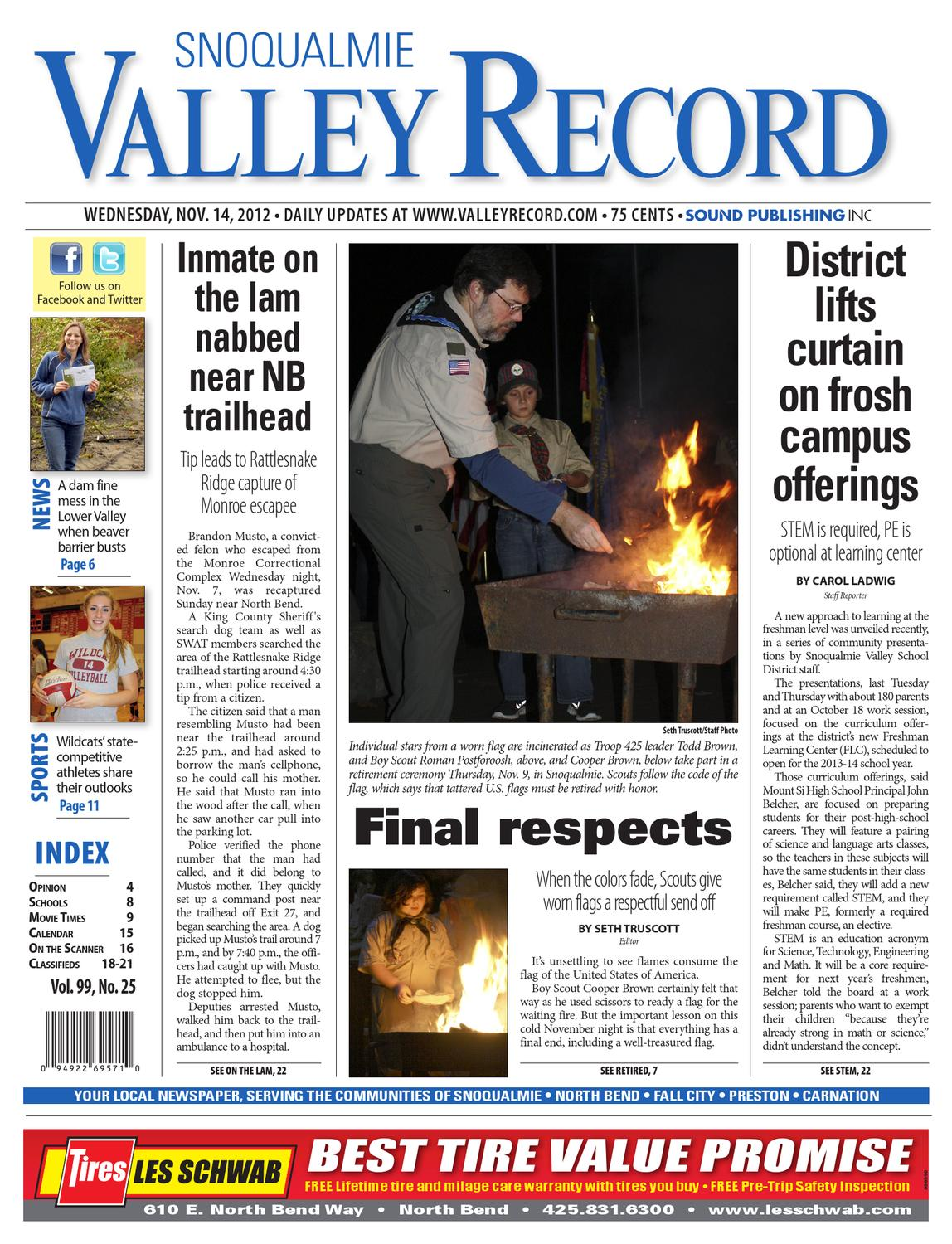 Snoqualmie Valley Record, November 14, 2012