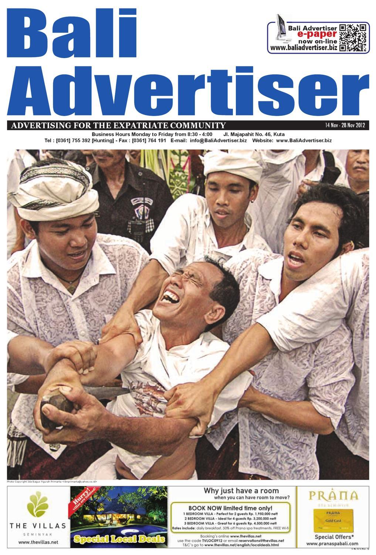 Ba 14 November 2012 By Bali Advertiser Issuu Tendencies Tshirt Legend Dc Hijau Muda Xl