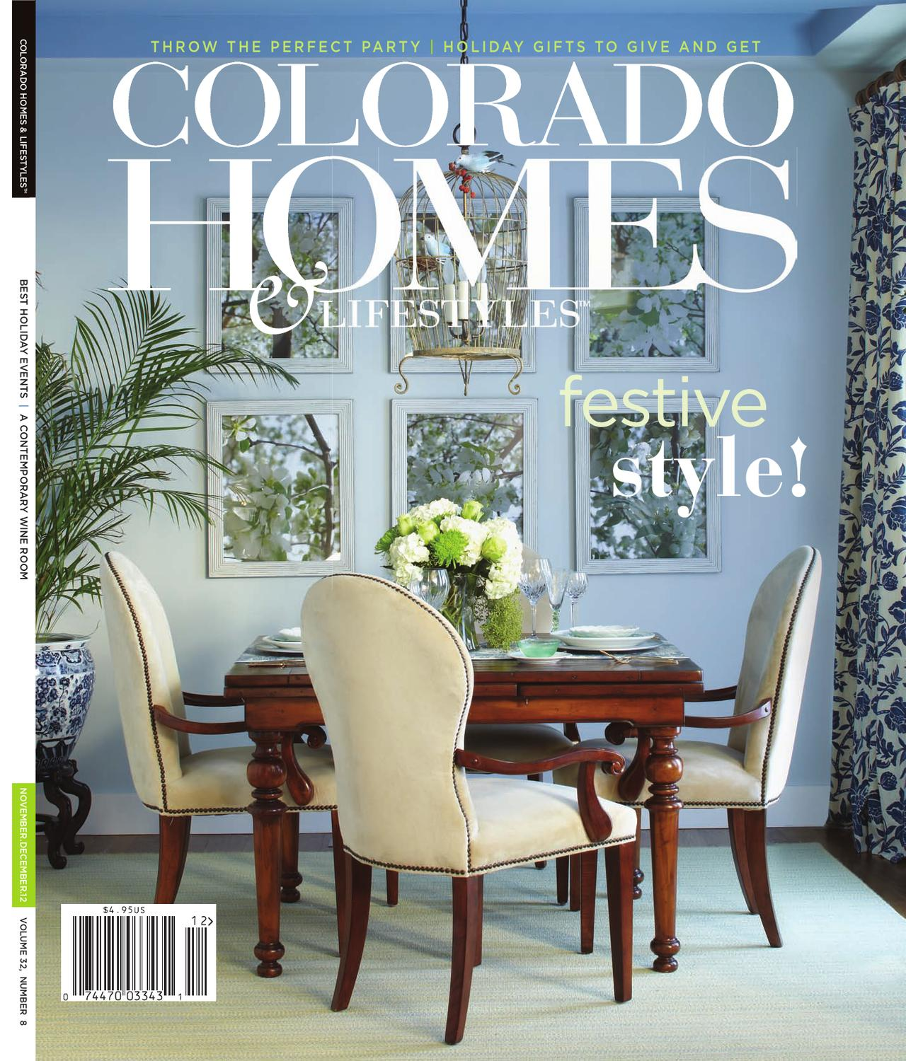 Colorado Homes & Lifestyles Nov-Dec 2012 by Network Communications ...