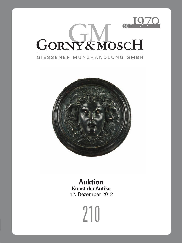 Gorny U0026 Mosch Auktionskatalog 210 By Gorny U0026 Mosch Giessener Münzhandlung  GmbH   Issuu