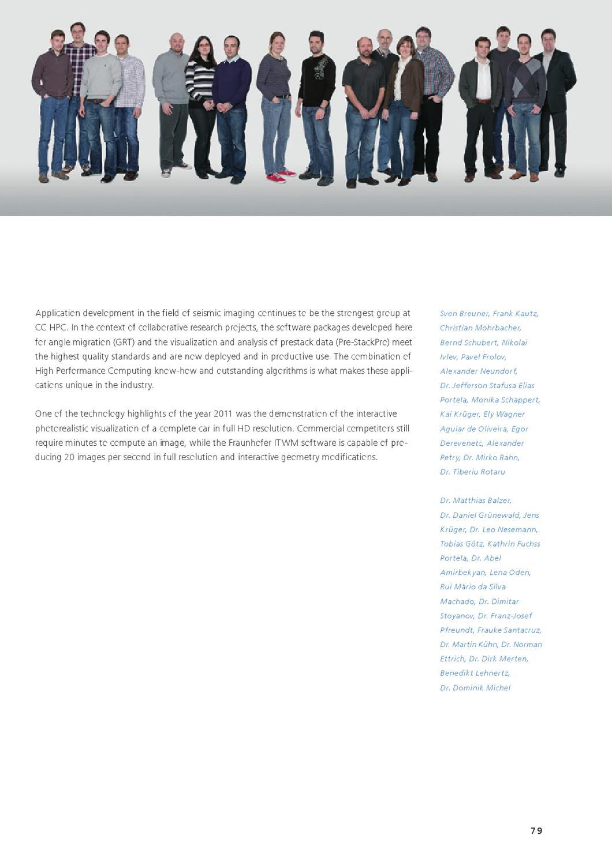 Annual Report 2011 by Fraunhofer ITWM - issuu