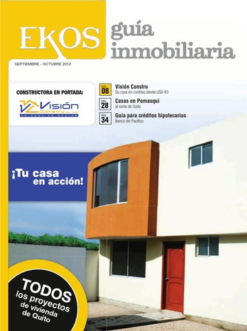 Gu a inmobiliaria edici n 8 by ekos issuu for Guia inmobiliaria