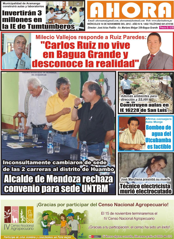 Diario Ahora Amazonas by Jonatan Arias - issuu