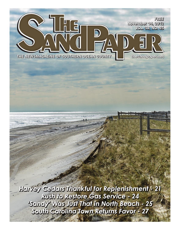 The Sandpaper November 14 2012 Vol 38 No 45 By The Sandpaper