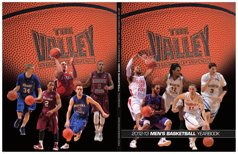 2012-13 MVC Men's Basketball Media Guide by Missouri Valley