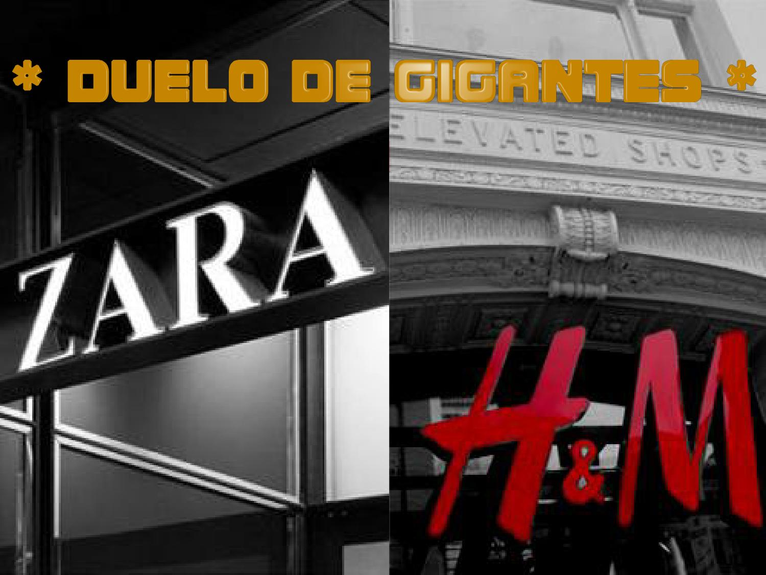 Análisis De Estrategias De Marketing Zara Vs H M By Miguel