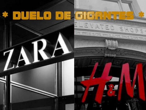 6c211a6ab9 Análisis de estrategias de marketing - Zara vs H M by Miguel Angel ...