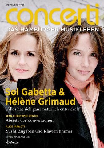 concerti - Das Hamburger Musikleben Dezember 2012 by concerti - Das ...