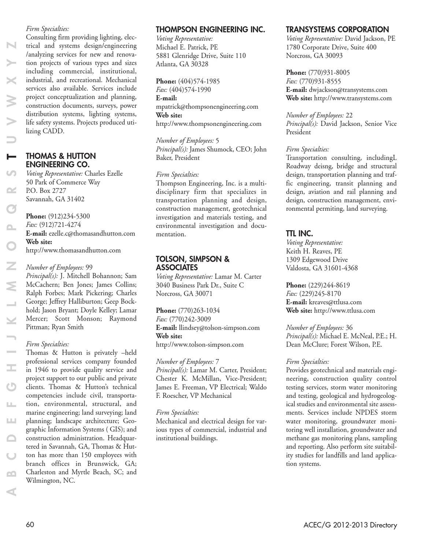 2013 ACEC Directory by Luke Clark - issuu