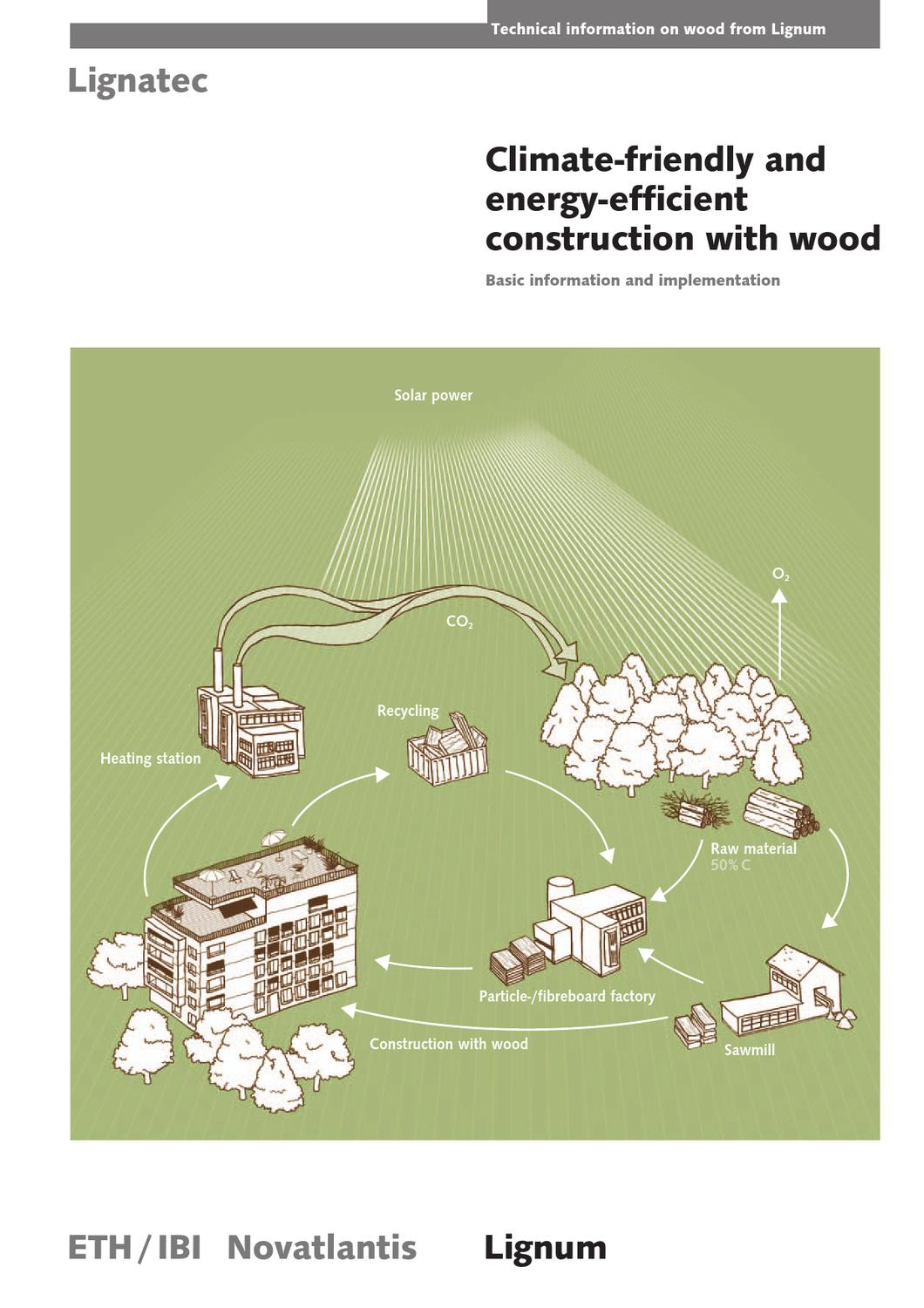 Climate-friendly and energy-efficient construction with wood – Basic ...